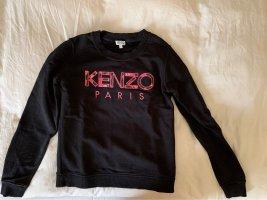 Kenzo Jersey con capucha negro-magenta