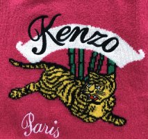 Kenzo Pullover in fuchsia, Tiger, Größe XS, neu!