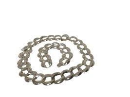 Collier argenté métal