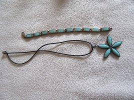 Collana turchese-nero