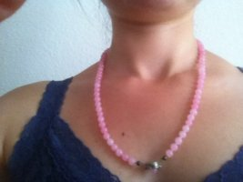 Parelketting roze