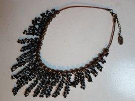 Tribal Art Ketting zwart-brons