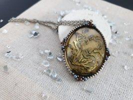 Kette Fantasy Amulett Anhänger Halsschmuck Halskette Neu