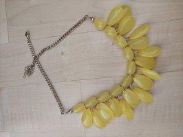 Bijou Brigitte Statement ketting geel-neongeel