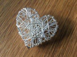 Kette mit Herzanhänger 925 Sterling Silber.