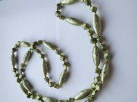 Kette ,oliv, 63cm lang, neu