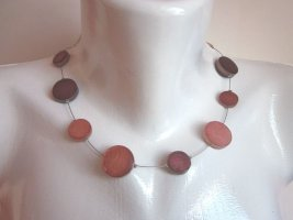 Culture Mix Shell Necklace cognac-coloured-brown mixture fibre