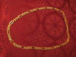 Kette, schlicht, Modeschmuck, neu, in gold