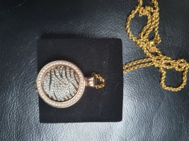 Quoins Necklace gold-colored