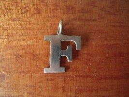Pendentif argenté métal