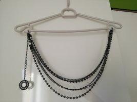 Street One Cinturón de cadena gris antracita