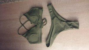 khaki Bikini M
