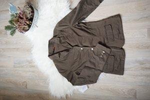 Khaki Jeansblazer / Jeansjacke khaki