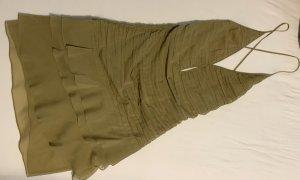 Khaki Kleid aus Seide von Gucci