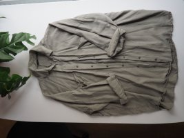 khakifarbene oversized Jacke
