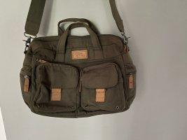 Khakifarbene Tasche / Weekender von Camel Active