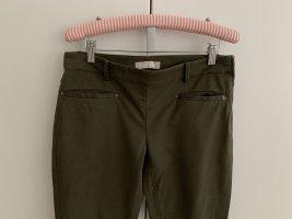 Khakigrüne Skinny Hose von Stefanel