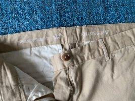 Gap Spodnie khaki jasnobeżowy