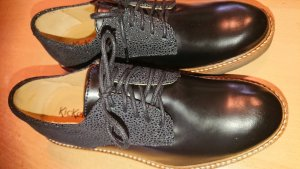Kickers Oxfords zwart