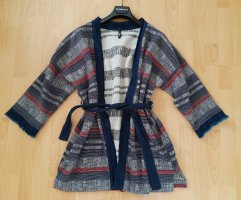 LTB Oversized Jacket steel blue-blue cotton