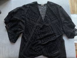 Hollister Kimono Blouse black