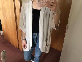 Kimono Weste beige XS S