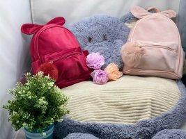 Kindergartenrucksack bunnystyle mit Kuschelbommel