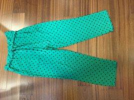 King louie Pantalone culotte verde-nero