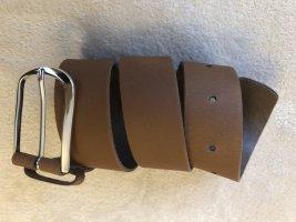 Kiomi Leather Belt brown leather