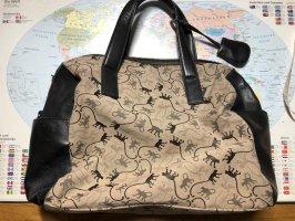 Kipling Bowlingtacshe mit Leder Seitentaschen und Griffen
