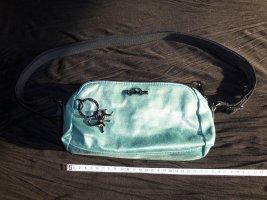 Kipling Tasche türkis blaugrün irisierend changierend