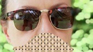 Gafas Retro color oro-marrón