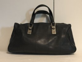 Chanel Borsetta nero-argento Pelle