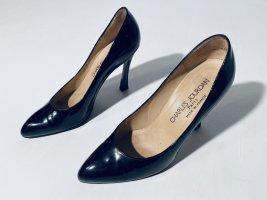Charles Jourdan High Heels black-sand brown leather