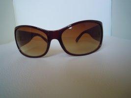 keine Owalne okulary przeciwsłoneczne brązowy-jasnobrązowy