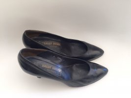 BALLY SUISSE High Heels black leather