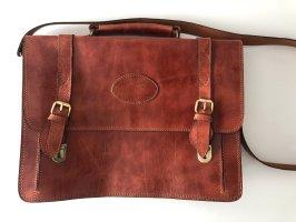 Gusti Leder College Bag brown