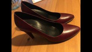 Klassische Schuhe echtes Leder