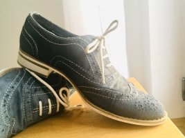 Lace Shoes white-slate-gray