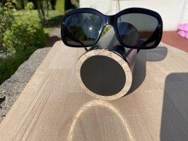 Bulgari Vierkante bril zwart
