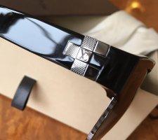 Louis Vuitton Gafas de sol cuadradas negro-color plata