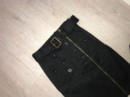 Burberry Midi Skirt black