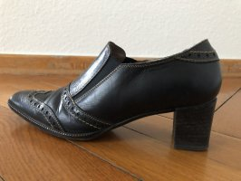 Donna Carolina Wingtip Shoes black