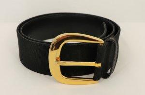 Salvatore ferragamo Cinturón pélvico negro-marrón arena