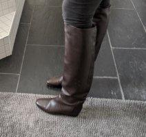 Lavin Bottes à l'écuyère brun foncé cuir