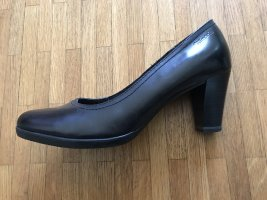 Tamaris Loafers zwart Leer