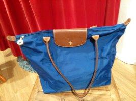 Longchamp Borsa shopper blu Sintetico