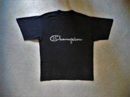 Klassisches T-Shirt von Champion in Schwarz