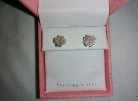 keine Silver Earrings silver-colored-beige