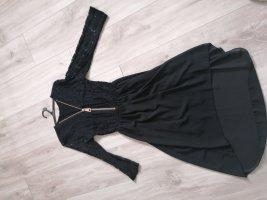 unknown Vestido mullet negro